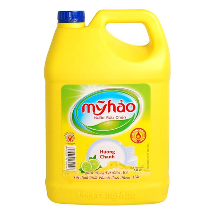 Nước Rửa Chén Mỹ Hảo Hương Chanh (3.8kg)