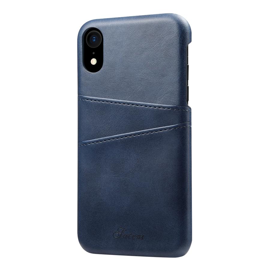 Ốp Lưng Da Kiêm Ví Dành Cho Điện Thoại iPhone XR