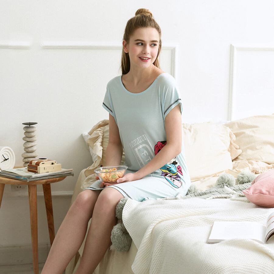 Đầm Nữ Cotton Mặc Nhà Đơn Giản Thoải Mái FENTENG X97209567