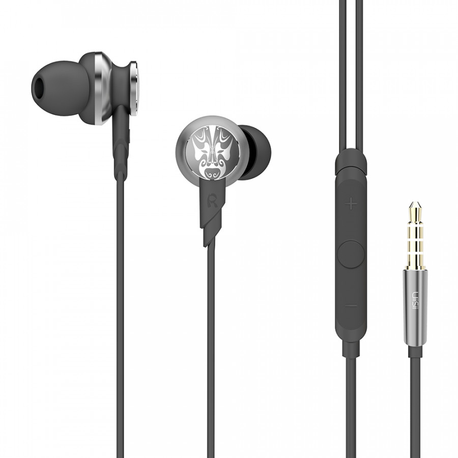 Uiisii Hi805 In-Ear Earphones Bass Hifi Dj Stereo Headphones Sport Headset 3.5mm Wired With Mic For Iphone Xiaomi Pc