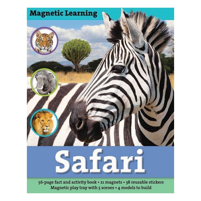 Magnetic Learning: Safari - 1705034 , 5441402457804 , 62_11849664 , 557000 , Magnetic-Learning-Safari-62_11849664 , tiki.vn , Magnetic Learning: Safari