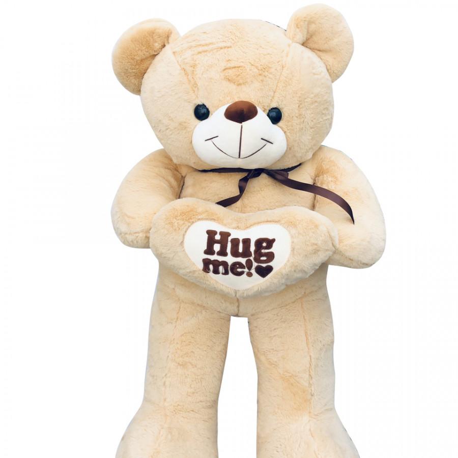 Gấu bông teddy Hugme ICHGIO (1M) màu caphe sữa
