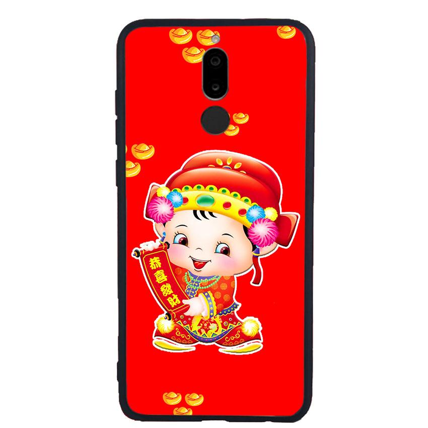 Ốp Lưng Viền TPU cho điện thoại Huawei Nova 2i - Thần Tài 05
