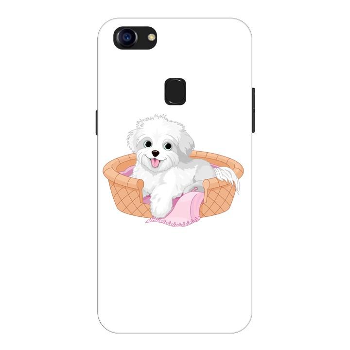 Ốp Lưng Dành Cho Điện Thoại Oppo F5 Puppy Cute - Mẫu 4
