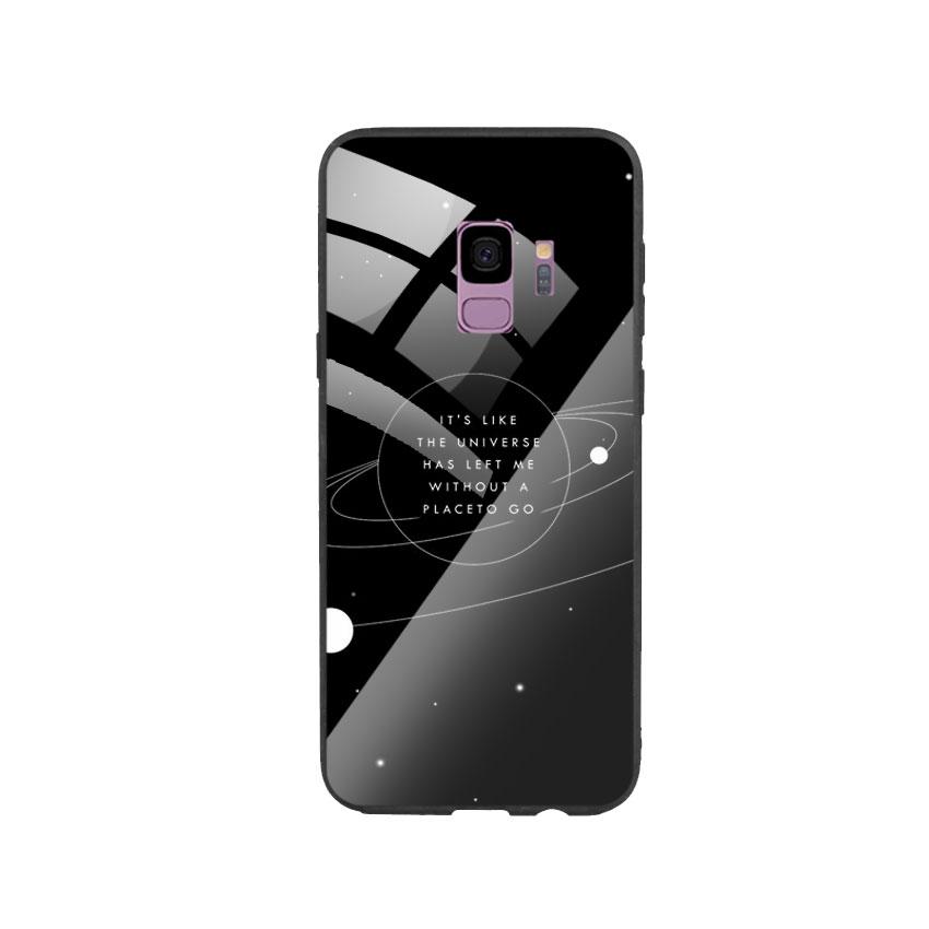 Ốp Lưng Kính Cường Lực cho điện thoại Samsung Galaxy S9 - Alone 02