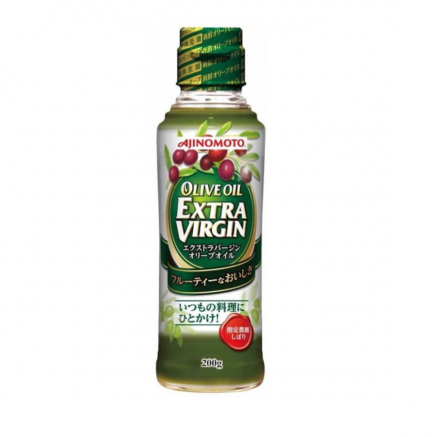 Dầu Olive Nguyên chất 100% Ajinomoto Extra Virgin (200g) - Nhập khẩu Nhật Bản