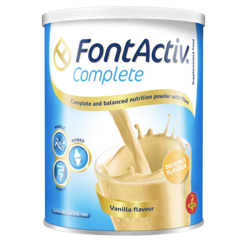 Sữa bột FontActiv Complete 400g - Bổ dung dinh dưỡng cho người ốm yếu, mệt mỏi