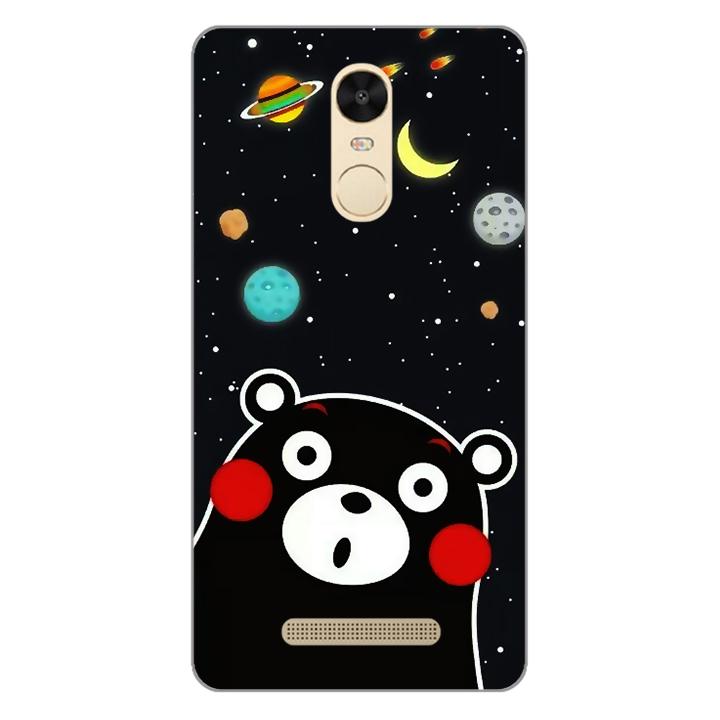 Ốp lưng dẻo Nettacase cho điện thoại Xiaomi Redmi Note 3 _0345 BEAR03 - Hàng Chính Hãng
