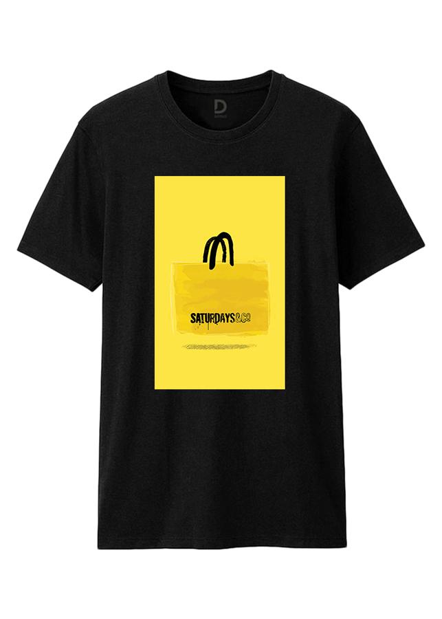 Áo T-Shirt Unisex Dotilo Saturday Bag B - Hu082a