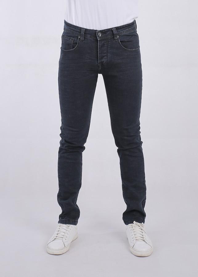 Quần Jeans Nam Skinny A91 JEANS 197 MSKBS197DK (Xanh đen)