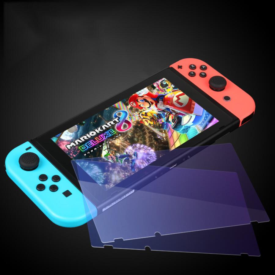 Kính Cường Lực Bảo Vệ Màn Hình NS HD BUBM Cho Dòng Máy Nintendo Switch