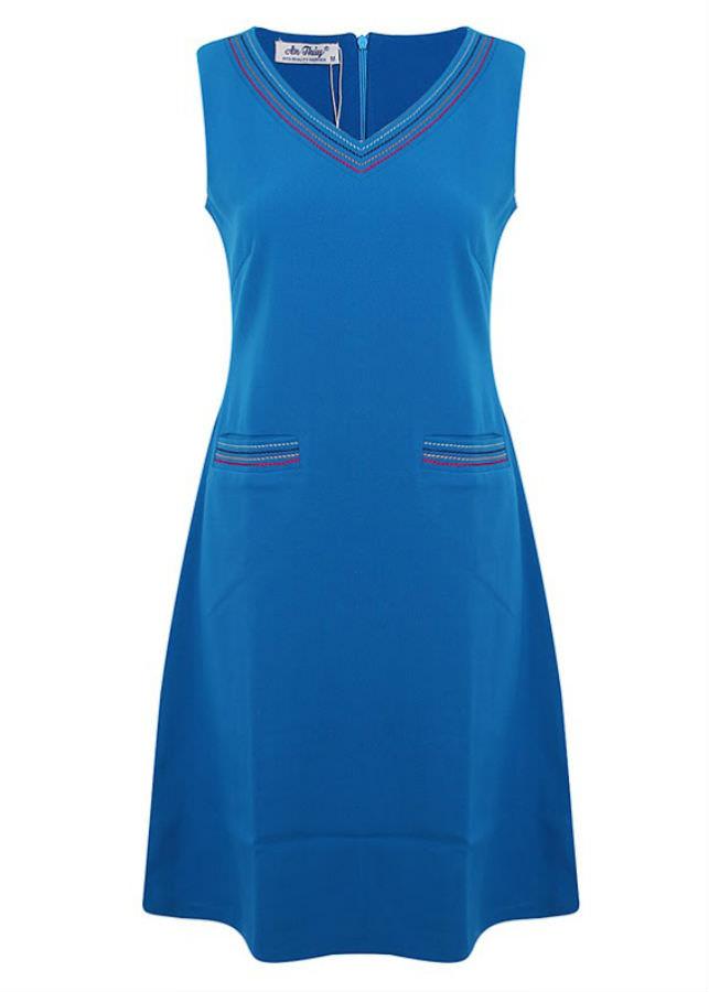 Đầm Kiểu Nữ An Thủy 570-M1 - Xanh Bích