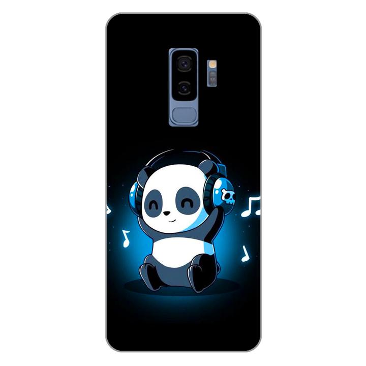 Ốp lưng dẻo cho điện thoại Samsung Galaxy S9 Plus_Panda 05