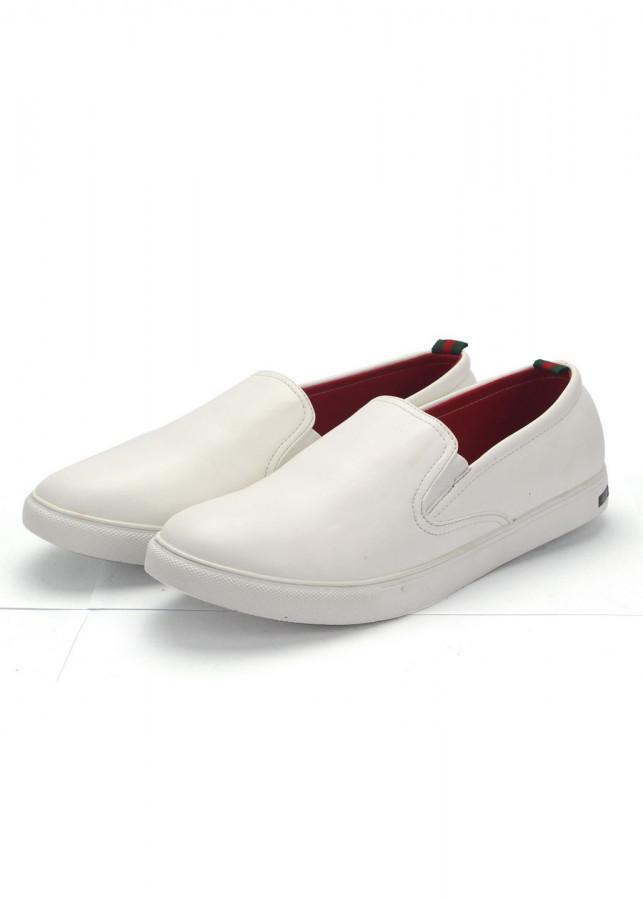 Giày lười nam Muidoi G317 (Trắng)