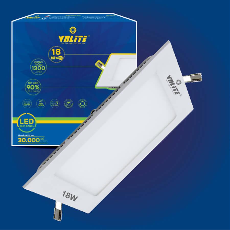 Đèn LED Âm Trần Vuông Siêu Mỏng VNLITE 18W - 1356568 , 4662077968766 , 62_8144961 , 389000 , Den-LED-Am-Tran-Vuong-Sieu-Mong-VNLITE-18W-62_8144961 , tiki.vn , Đèn LED Âm Trần Vuông Siêu Mỏng VNLITE 18W