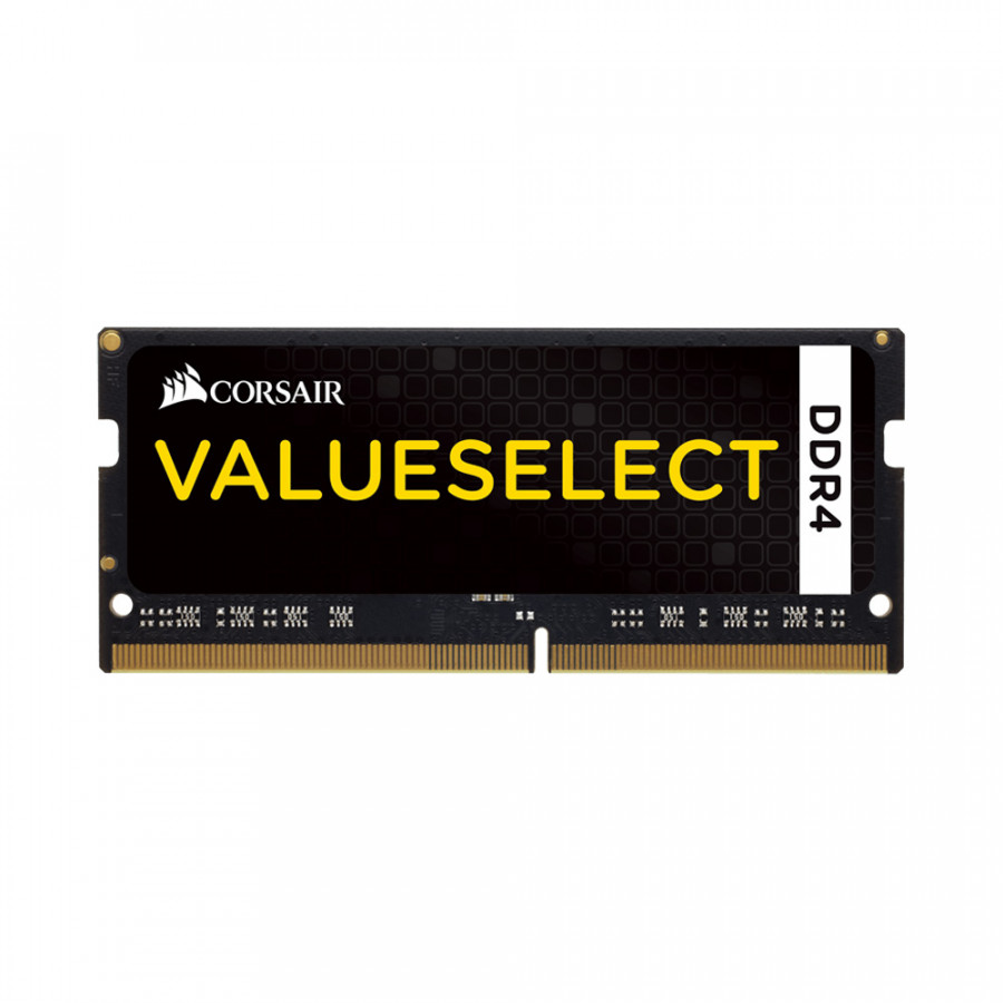 Ram laptop Corsair Value Select DDR4 8GB (1x8GB) Bus 2133Mhz SODIMM CMSO8GX4M1A2133C15 - Hàng Chính Hãng