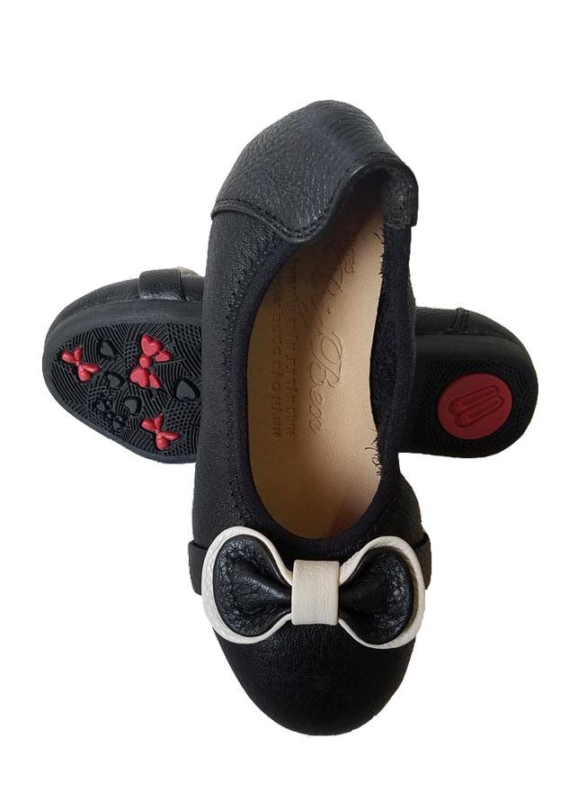 Giày Búp Bê Bé Gái BIGGBEN Da Bò Thật Cao Cấp BB10