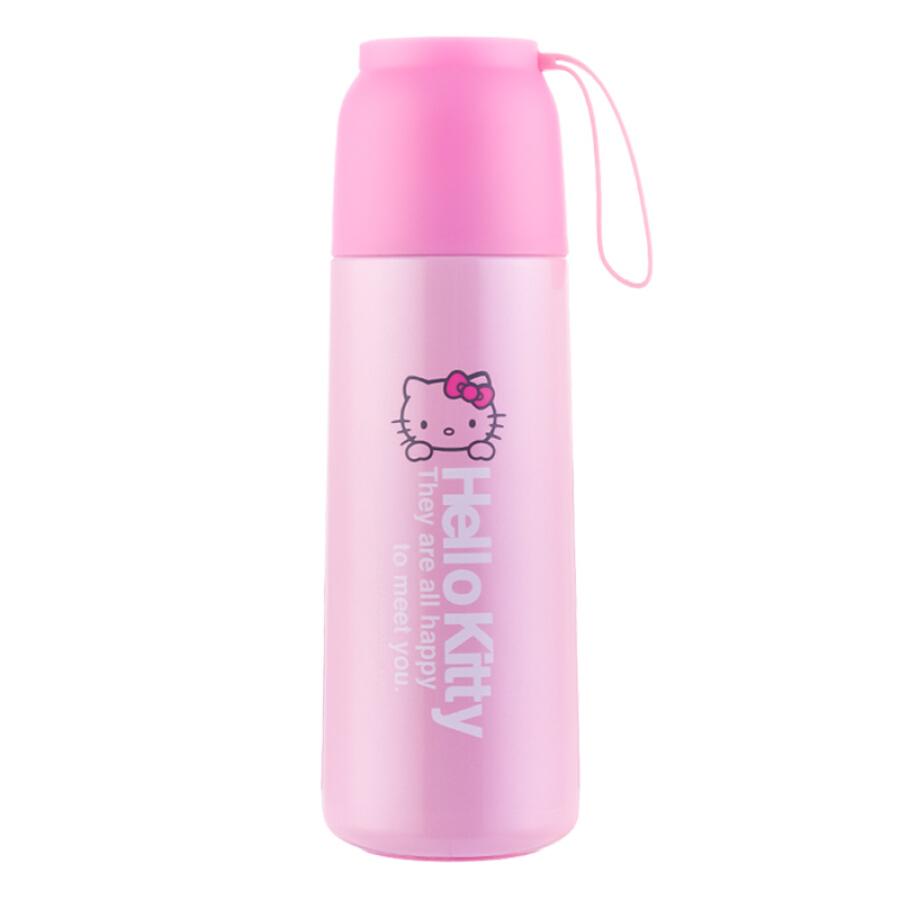 Bình Đựng Nước Cách Nhiệt Hello Kitty 450ml