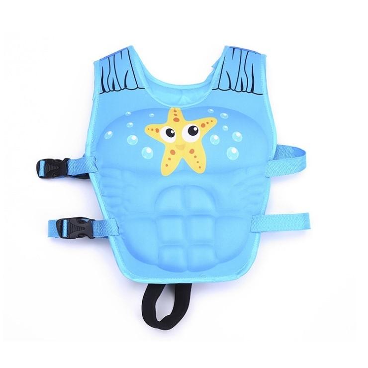 Phao bơi trẻ em, áo phao bơi STAR (Bé từ 2 - 10 tuổi) - POKI