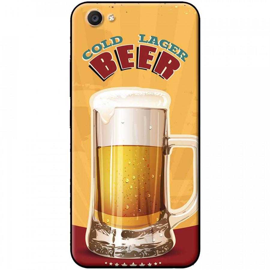 Ốp lưng dành cho Vivo Y69 mẫu Ly bia nền vàng