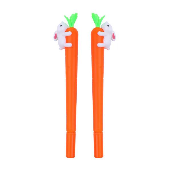 Combo 2 bút thỏ ôm carot