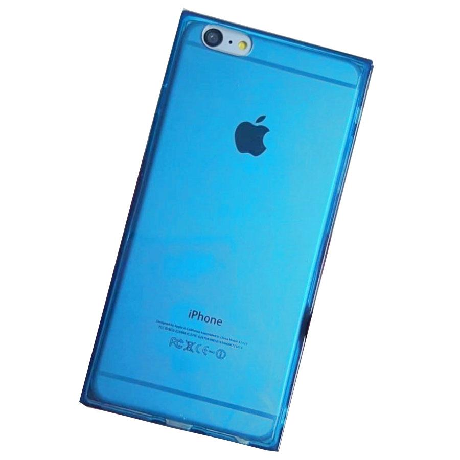 Ốp lưng vuông dẻo màu trong suốt chống sốc 4 góc cho iPhone 6 Plus / iPhone 6s Plus - 1116255 , 2266837254711 , 62_7099691 , 60000 , Op-lung-vuong-deo-mau-trong-suot-chong-soc-4-goc-cho-iPhone-6-Plus--iPhone-6s-Plus-62_7099691 , tiki.vn , Ốp lưng vuông dẻo màu trong suốt chống sốc 4 góc cho iPhone 6 Plus / iPhone 6s Plus