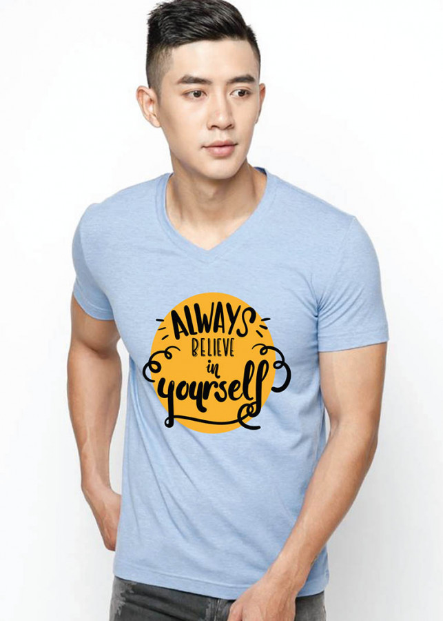 Áo thun in hình Alway believe in yourself - 1146701 , 9358414397812 , 62_7308557 , 150000 , Ao-thun-in-hinh-Alway-believe-in-yourself-62_7308557 , tiki.vn , Áo thun in hình Alway believe in yourself