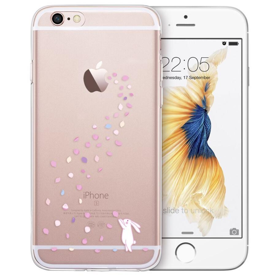 Ốp Lưng Silicone Dẻo Chống Va Đập Mưa Hoa Thỏ (ESR) Dành Cho iPhone6 / 6s phone case / 4.7 inch Apple 6S - Trong Suốt