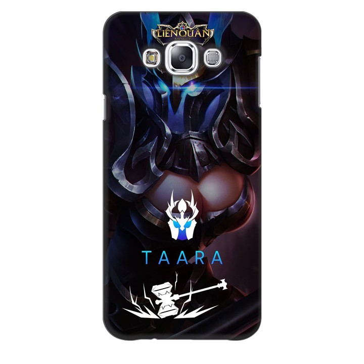 Ốp lưng nhựa cứng nhám dành cho Samsung Galaxy E7 in hình Taara