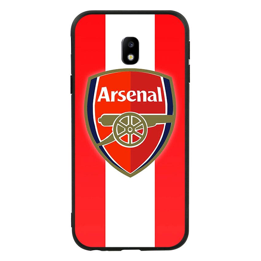 Ốp lưng viền TPU cho Samsung Galaxy J3 Pro 2017 - Clb Arsenal 01