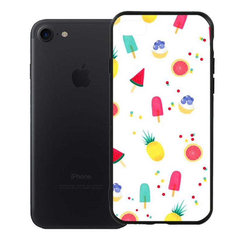 Ốp Lưng Viền TPU Cao Cấp Dành Cho iPhone 7 - Summer 01