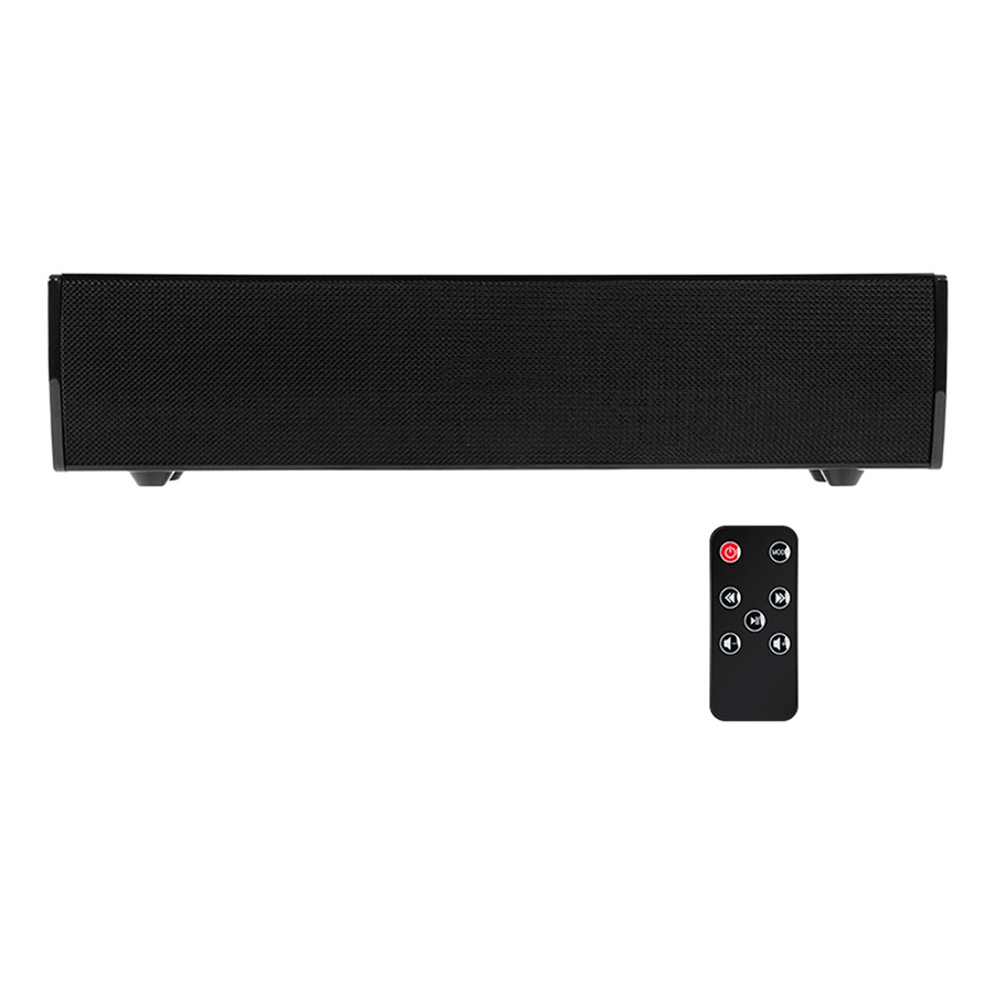 Wireless Bluetooth Speaker Soundbar Home Theater Bass Subwoofer Stereo Sound Box RCA AUX IN Music Play for TV PC Laptop - Black - 1839933 , 2717065199751 , 62_13821615 , 994000 , Wireless-Bluetooth-Speaker-Soundbar-Home-Theater-Bass-Subwoofer-Stereo-Sound-Box-RCA-AUX-IN-Music-Play-for-TV-PC-Laptop-Black-62_13821615 , tiki.vn , Wireless Bluetooth Speaker Soundbar Home Theater Ba