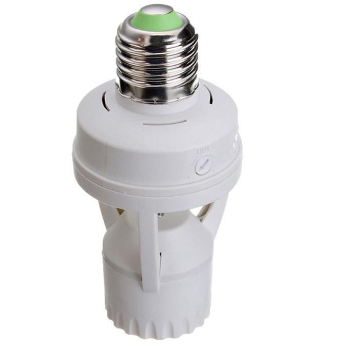Đui đèn treo cảm ứng hồng ngoại E27B22