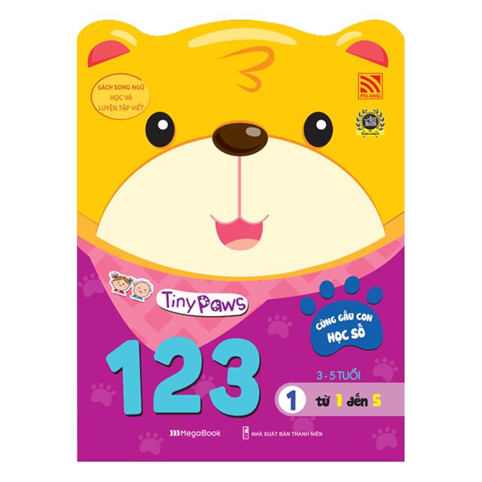 Tiny Paws - Cùng Gấu Con Học Số 123 - Từ 1 Đến 5