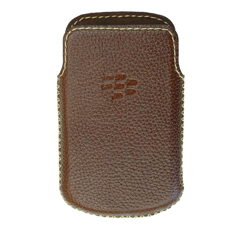 Bao Da Rút Dành Cho Blackberry Q10 màu nâu