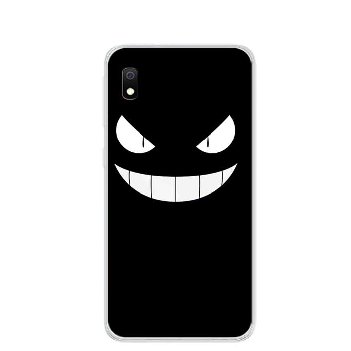 Ốp lưng dẻo cho điện thoại Samsung Galaxy A10 - 0165 MONSTER01 - Hàng Chính Hãng