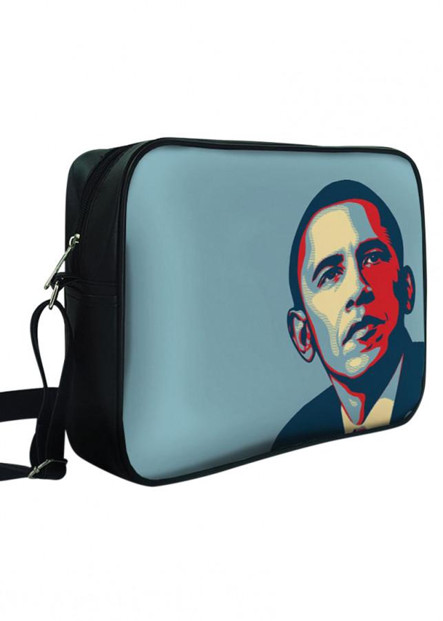 Túi Đeo Chéo Hộp Unisex In Hình Obama I Hope - TCAT054