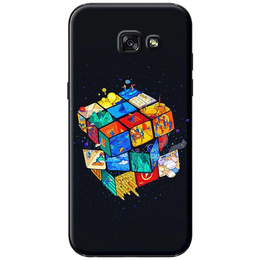 Ốp lưng dành cho Samsung A3 2017 Rubik