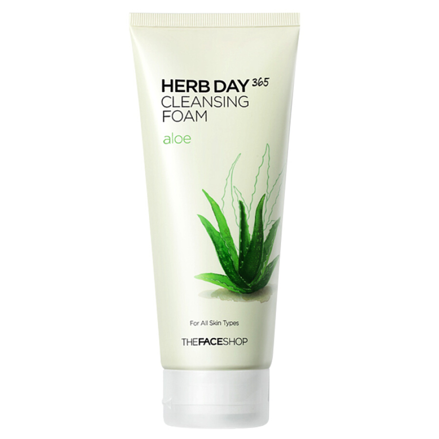 The Face Shop Daily Herbal Cherry Foaming Cleansing Foam 170g (Face Cleanser Deep Cleansing  Moisturizing Hydration) - 814054 , 6411083900509 , 62_10427657 , 126000 , The-Face-Shop-Daily-Herbal-Cherry-Foaming-Cleansing-Foam-170g-Face-Cleanser-Deep-Cleansing-Moisturizing-Hydration-62_10427657 , tiki.vn , The Face Shop Daily Herbal Cherry Foaming Cleansing Foam 170g (F