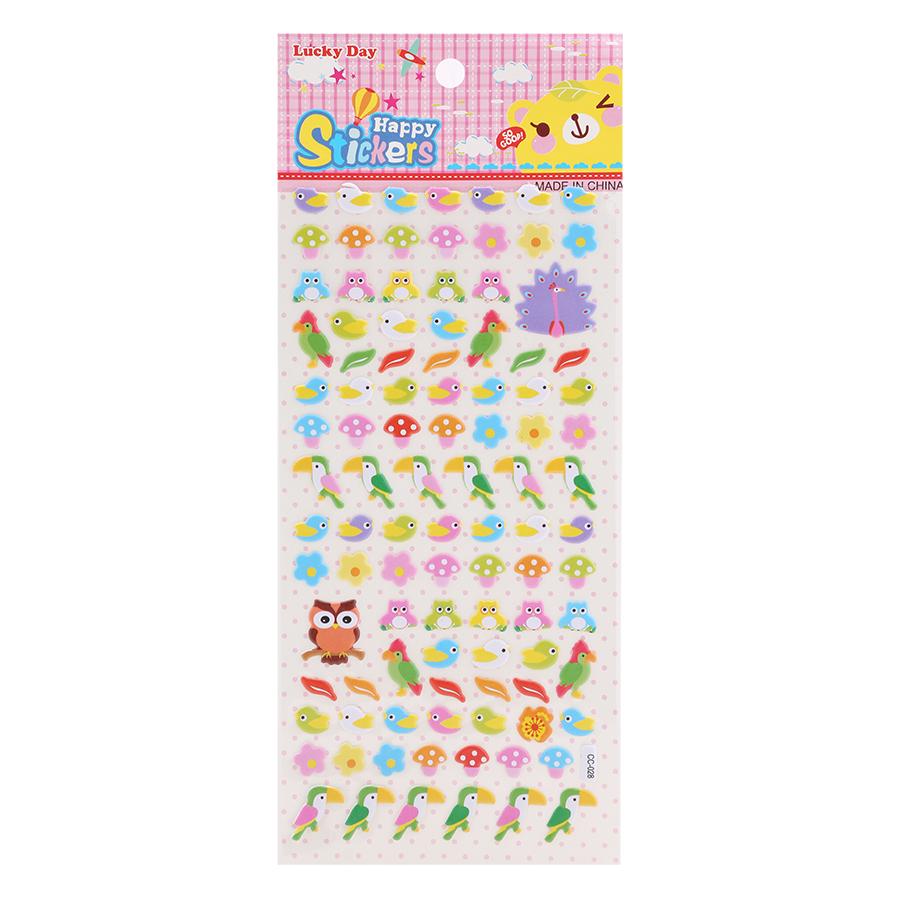 Sticker Dán Nổi Cho Bé - CC028