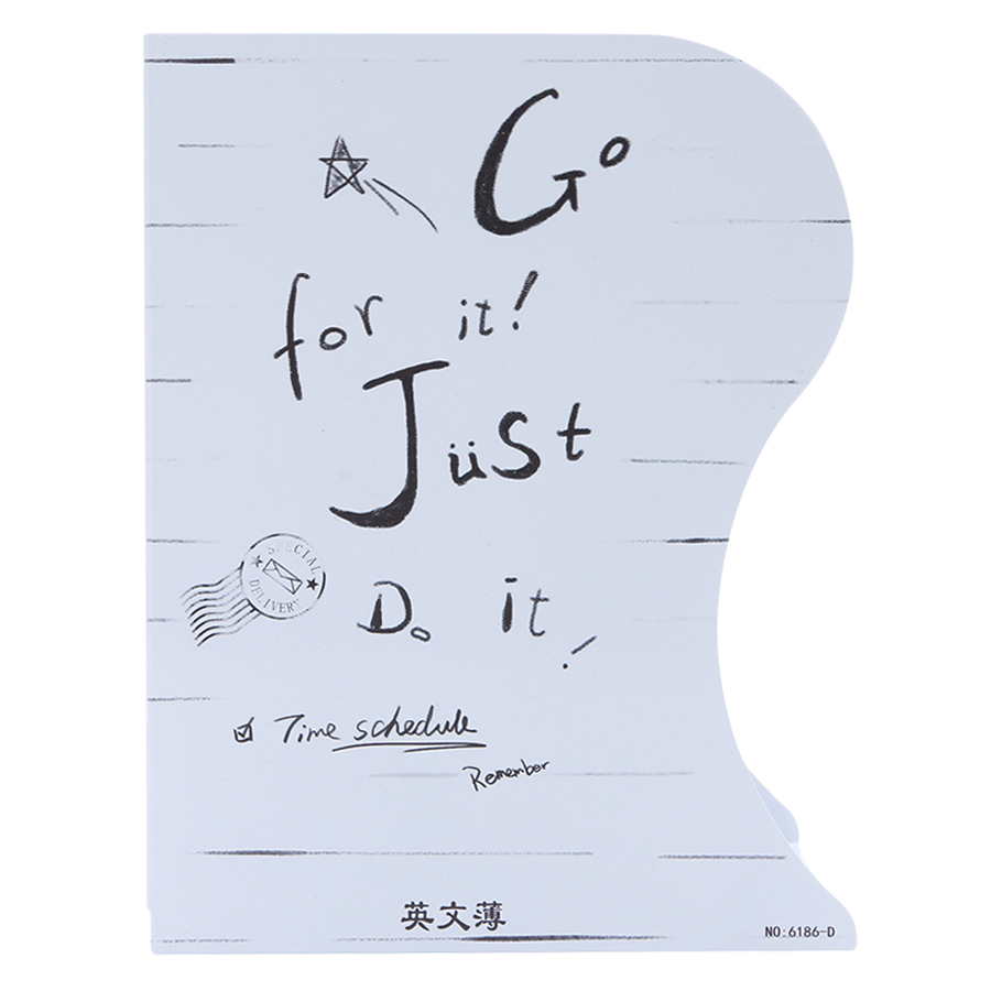 Kệ Chặn Sách Xếp - Go For It Just Do It - 1637352 , 6922035163519 , 62_11376121 , 219000 , Ke-Chan-Sach-Xep-Go-For-It-Just-Do-It-62_11376121 , tiki.vn , Kệ Chặn Sách Xếp - Go For It Just Do It