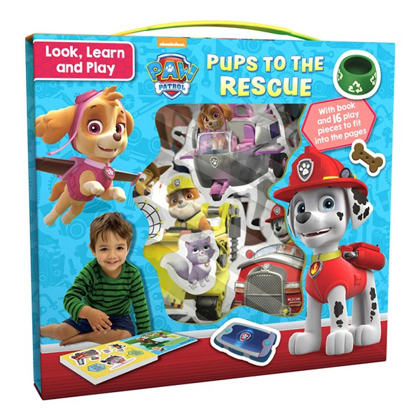 Nickelodeon PAW Patrol Look, Learn and Play: Pups to the Rescue - Chú chó cứu hộ - 947670 , 6179151648493 , 62_2098273 , 494000 , Nickelodeon-PAW-Patrol-Look-Learn-and-Play-Pups-to-the-Rescue-Chu-cho-cuu-ho-62_2098273 , tiki.vn , Nickelodeon PAW Patrol Look, Learn and Play: Pups to the Rescue - Chú chó cứu hộ