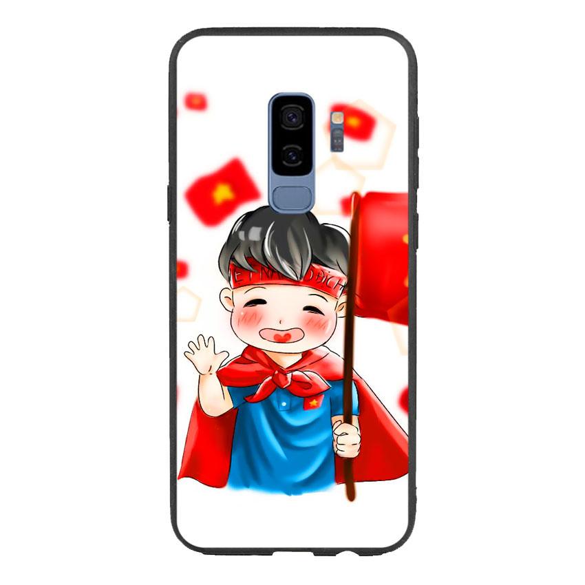 Ốp Lưng Viền TPU Cho Samsung Galaxy S9 Plus - U23 Mẫu 6