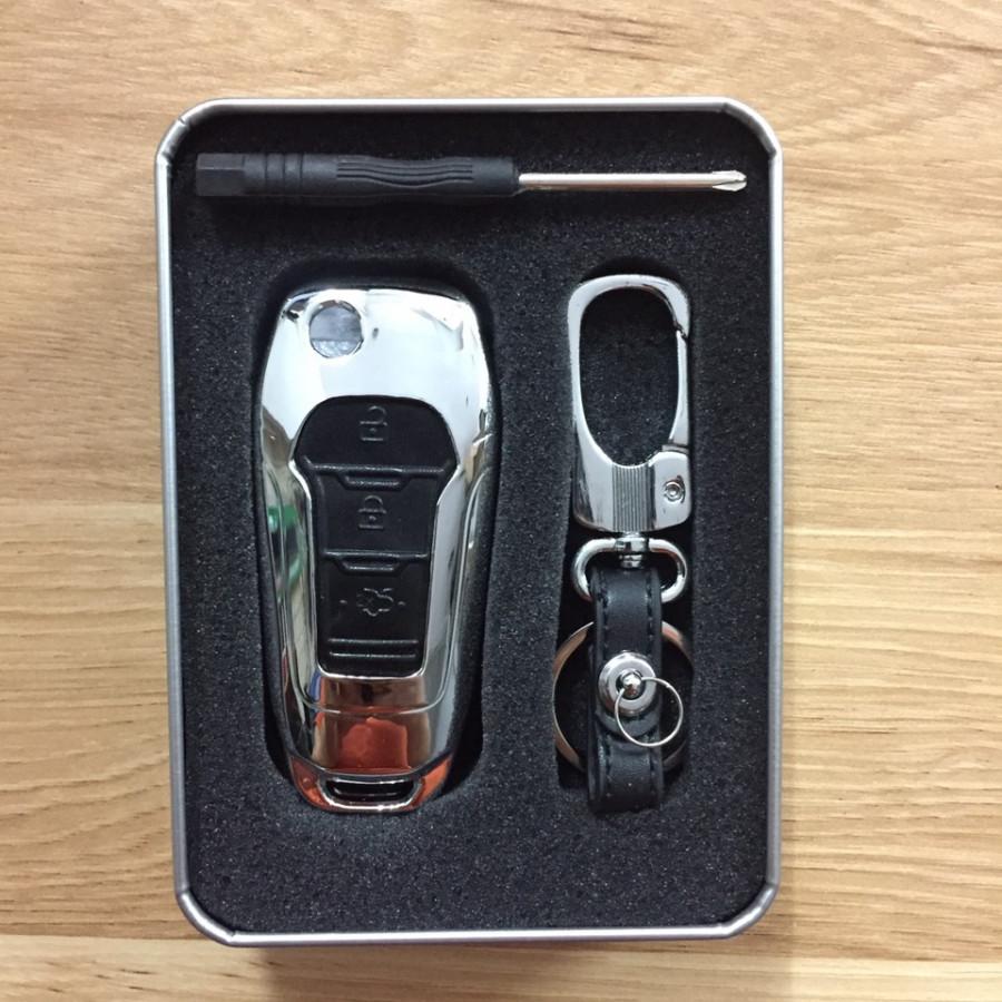 Ốp vỏ chìa khóa inox cho xe Ford Ranger 3.2, XLT - 7597540 , 3454707916343 , 62_17018217 , 305000 , Op-vo-chia-khoa-inox-cho-xe-Ford-Ranger-3.2-XLT-62_17018217 , tiki.vn , Ốp vỏ chìa khóa inox cho xe Ford Ranger 3.2, XLT