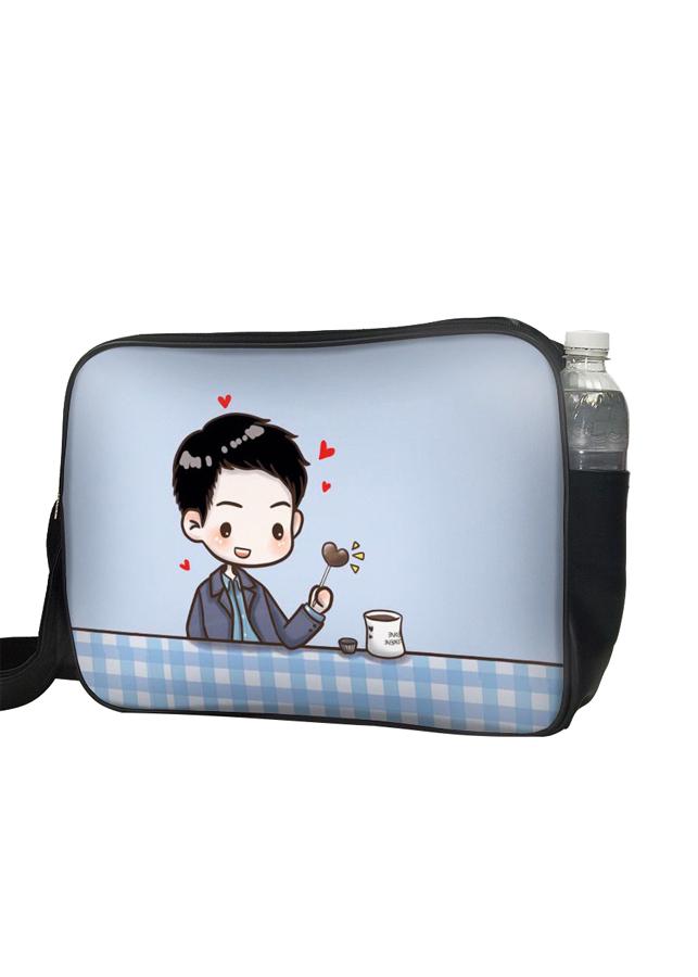 Túi Đeo Chéo Hộp Unisex In Hình Song Joong Ki - TCCP529