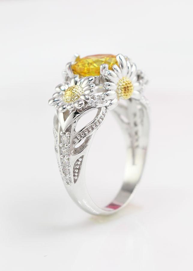 Nhẫn bạc nữ hoa hướng dương đính đá NN0198 - 1866827 , 6976643203907 , 62_10124475 , 550000 , Nhan-bac-nu-hoa-huong-duong-dinh-da-NN0198-62_10124475 , tiki.vn , Nhẫn bạc nữ hoa hướng dương đính đá NN0198