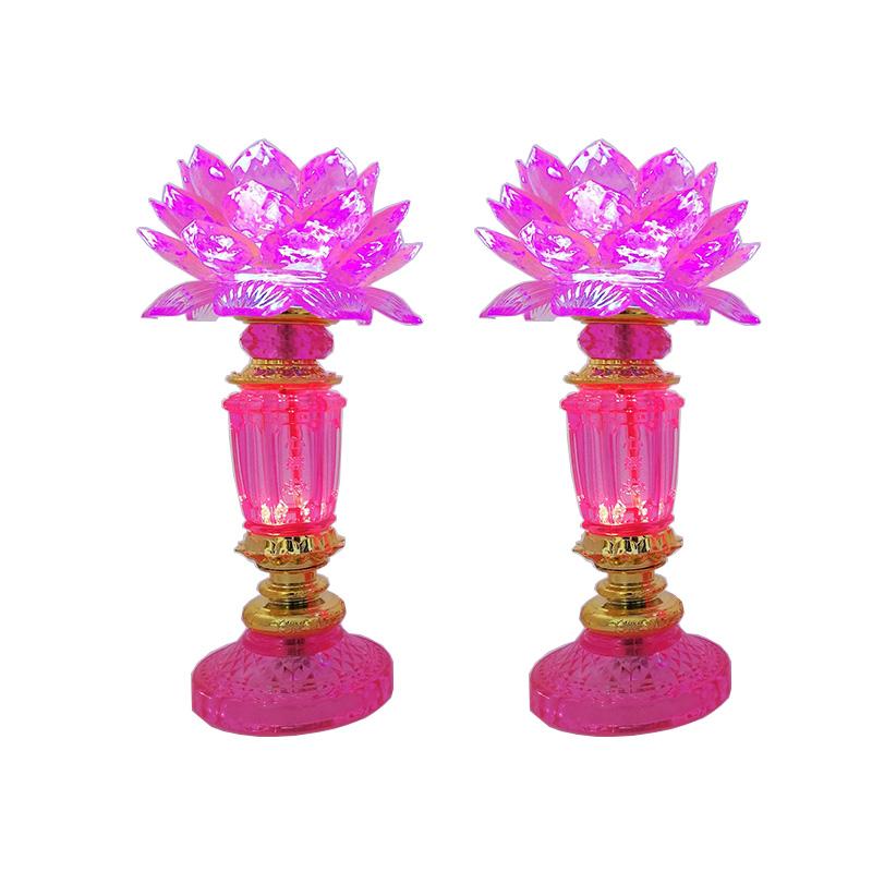 Bộ 2 đèn thờ pha lê hoa sen hồng thân cao 25cm VDT-LS2T - 1538520 , 8231467939264 , 62_9689629 , 450000 , Bo-2-den-tho-pha-le-hoa-sen-hong-than-cao-25cm-VDT-LS2T-62_9689629 , tiki.vn , Bộ 2 đèn thờ pha lê hoa sen hồng thân cao 25cm VDT-LS2T