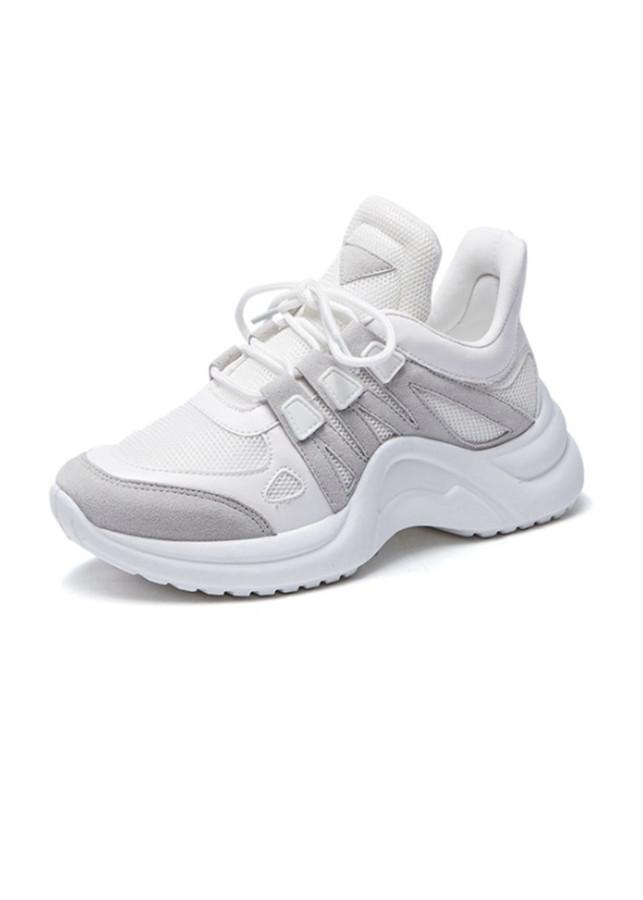 Sneaker Giày Nữ Độn Đế Màu Trắng Đen Xám Nguyên Khối Ấn Tượng Năng Động - 2335510 , 8478053819283 , 62_15169376 , 378000 , Sneaker-Giay-Nu-Don-De-Mau-Trang-Den-Xam-Nguyen-Khoi-An-Tuong-Nang-Dong-62_15169376 , tiki.vn , Sneaker Giày Nữ Độn Đế Màu Trắng Đen Xám Nguyên Khối Ấn Tượng Năng Động