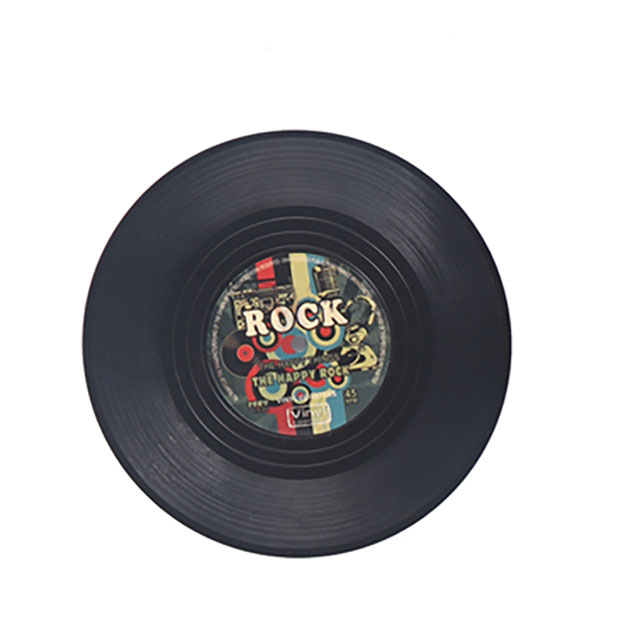 Creative Retro Vintage Kitchen Restaurant Tableware Cup Drink Holder Mat Mug Vinyl Record Coaster