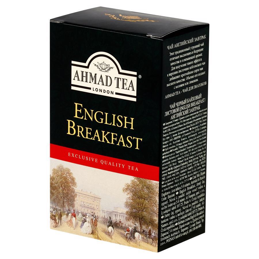 Trà pha ấm AHMAD Buổi Sáng Anh Quốc hộp giấy 100g